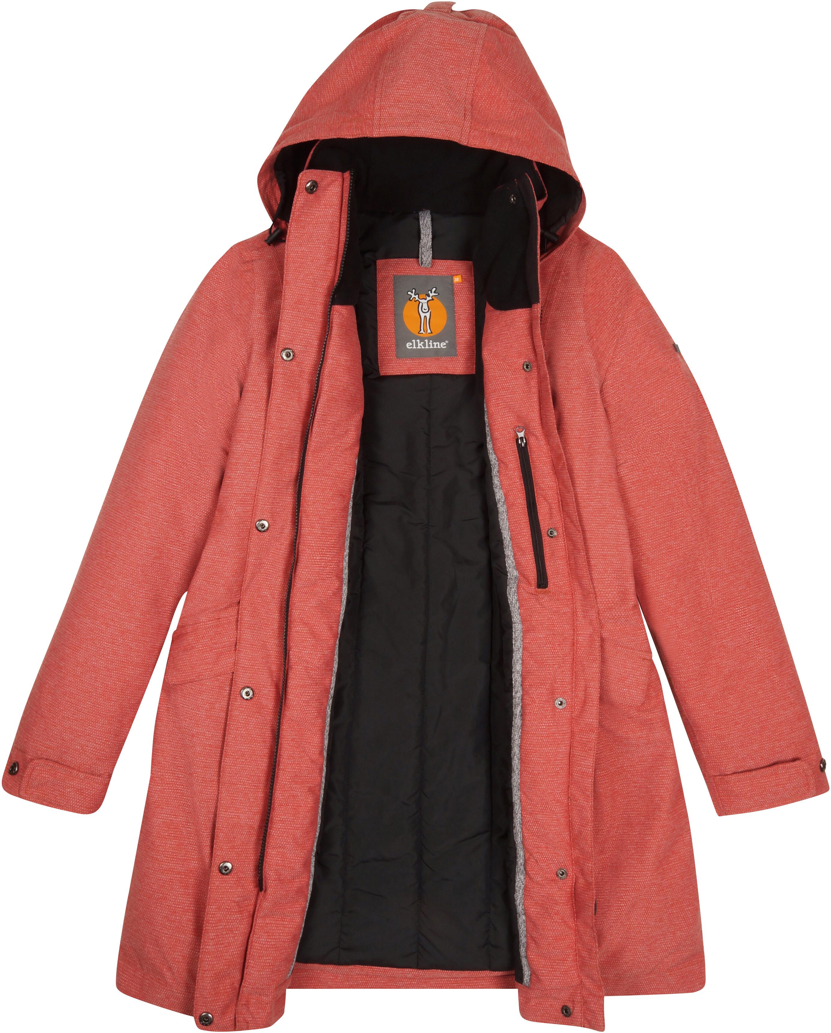 Elkline Warmumsherz Outdoorjacke Damen red   campz.de ff8708168c